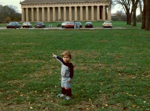 """Let's go to the Parthenon,"" Nashville, Tennessee, November 1986"