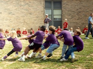 """Lakeview Elementary Field Day,"" June 1992"