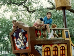 """Storyland Village,"" New Orleans, Louisiana, August 1992"
