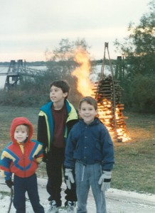 Bonfire on the Mississippi, Chalmett Battleground, December 1994