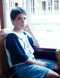 On the St. Charles Streetcar, June 1995
