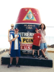 Southernmost Pointe of the US, June 2001